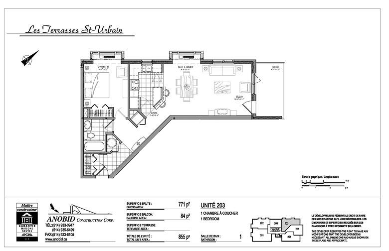Anobid Construction Corp Les Terrasses Saint Urbain